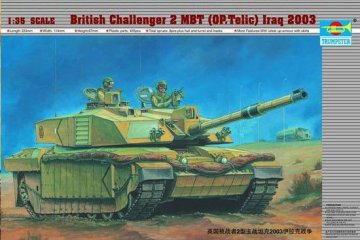 Challenger II Operation Telic, Irak 2003 · TRU 00323 ·  Trumpeter · 1:35