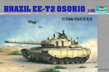 Brasilianischer Panzer EE-T2 Osorio · TRU 00333 ·  Trumpeter · 1:35