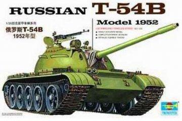 Russischer Panzer T-54B · TRU 00338 ·  Trumpeter · 1:35