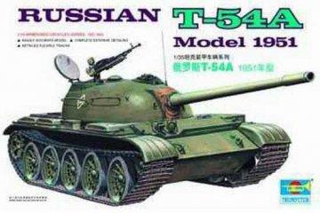 Russischer Panzer T-54A · TRU 00340 ·  Trumpeter · 1:35