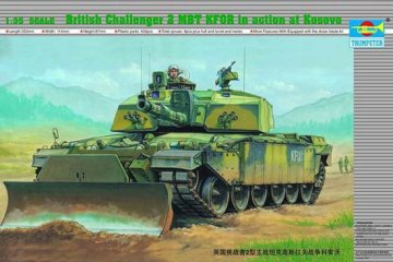 Challenger II KFOR (Kosovo-Einsatz) · TRU 00345 ·  Trumpeter · 1:35