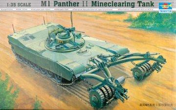 M1 Panther II Minenräumer · TRU 00346 ·  Trumpeter · 1:35