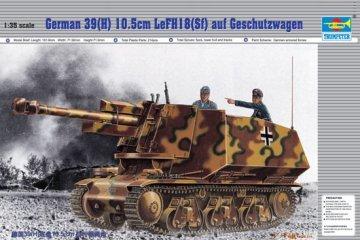 PzKpfw 39(H) 10,5 cm LeFH18 (SFf) auf Geschützwagen · TRU 00353 ·  Trumpeter · 1:35