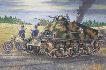 PzKpfw 38(H) Funk- u. Befehlswagen · TRU 00355 ·  Trumpeter · 1:35