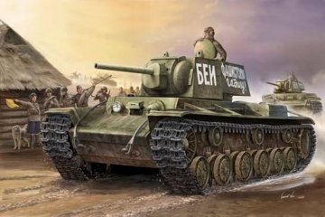 Russland KV-1 (1941) · TRU 00356 ·  Trumpeter · 1:35