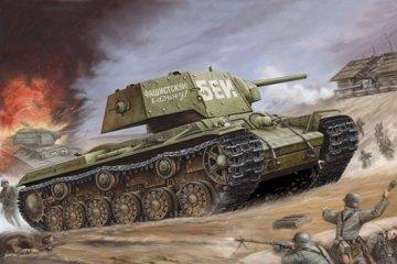 Russian KV-1´s Ehkranami · TRU 00357 ·  Trumpeter · 1:35