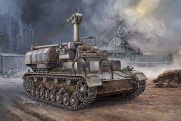 German Pz.Kpfw IV Ausf. D/E Fahrgestell · TRU 00362 ·  Trumpeter · 1:35
