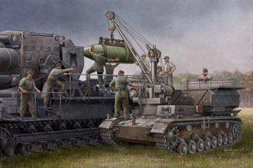 German Pz.Kpfw IV Ausf F Fahrgestell · TRU 00363 ·  Trumpeter · 1:35