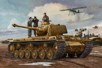German Pz.Kpfm. KV-1 756(r) Tank · TRU 00366 ·  Trumpeter · 1:35