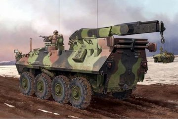 USMC LAV-R Light Armored Veh.Recovery · TRU 00370 ·  Trumpeter · 1:35