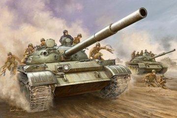 T-62 Main Battle Tank Mod. 1962 · TRU 00376 ·  Trumpeter · 1:35