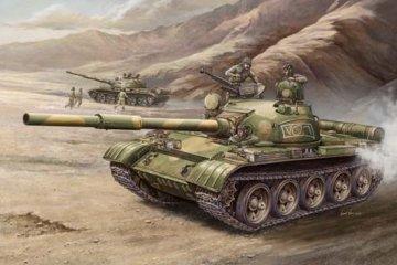 Russian T-62 Mod 1972 · TRU 00377 ·  Trumpeter · 1:35