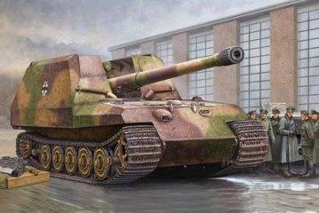 German Geschützwagen Tiger · TRU 00378 ·  Trumpeter · 1:35