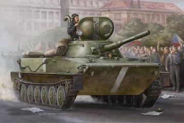Russian PT-76 Amphibious Tank Mod.1951 · TRU 00379 ·  Trumpeter · 1:35
