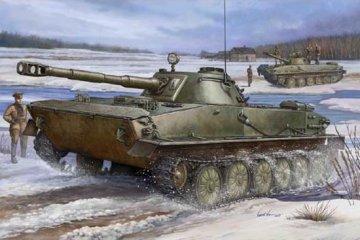PT-76 Light Amphibious Tank · TRU 00380 ·  Trumpeter · 1:35