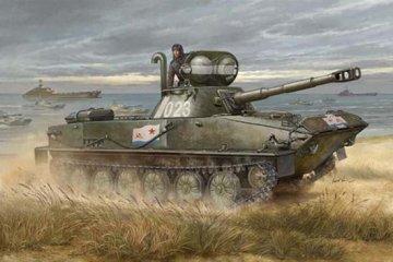 Russian PT-76B · TRU 00381 ·  Trumpeter · 1:35