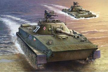 Polish PT-76B · TRU 00382 ·  Trumpeter · 1:35