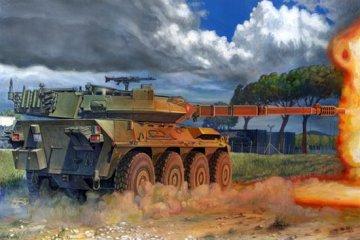 Italian B1 Centauro Tank Destroyer · TRU 00386 ·  Trumpeter · 1:35