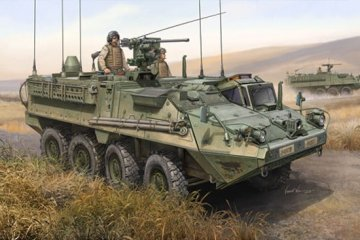M1130 Stryker Command Vehicle · TRU 00397 ·  Trumpeter · 1:35