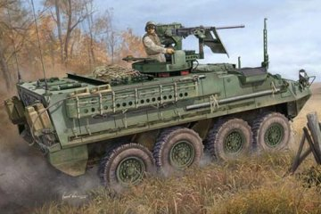 United State Army M1131 Stryker FSV · TRU 00398 ·  Trumpeter · 1:35