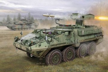 M1134 Stryker Anti Tank Guided Missile (ATGN) · TRU 00399 ·  Trumpeter · 1:35