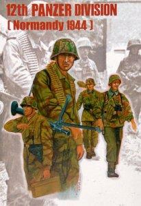12. Panzerdivision Normandie 1944 · TRU 00401 ·  Trumpeter · 1:35