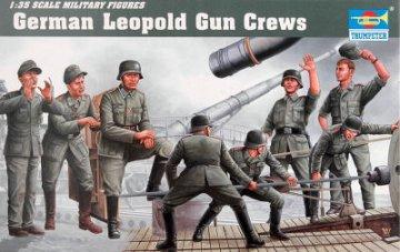 Deutsche Artillerie Besatzung für Leopold · TRU 00406 ·  Trumpeter · 1:35