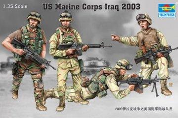 US Marine Corps Irak 2003 · TRU 00407 ·  Trumpeter · 1:35