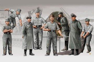 Deutsche Artillerie Besatzung für Mörser Karl · TRU 00409 ·  Trumpeter · 1:35