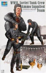 Soviet Tank Crew Ammo Suppl.Team WWII · TRU 00411 ·  Trumpeter · 1:35