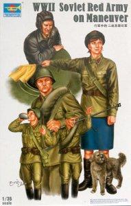 Soviet red Army Tank Soldier · TRU 00412 ·  Trumpeter · 1:35