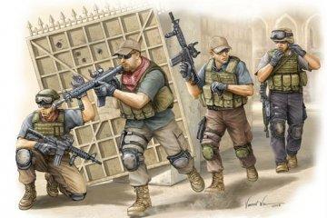 PMC in Iraq - Fire Movement Team · TRU 00419 ·  Trumpeter · 1:35