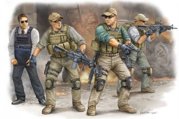 PMC in Iraq - VIP Protection · TRU 00420 ·  Trumpeter · 1:35