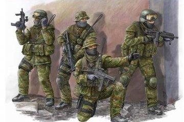 Modern German KSK Commandos · TRU 00422 ·  Trumpeter · 1:35