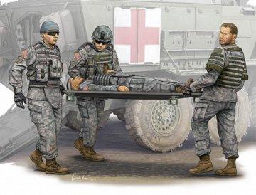 Modern U.S. Army-Stretcher AmbulanceTeam · TRU 00430 ·  Trumpeter · 1:35