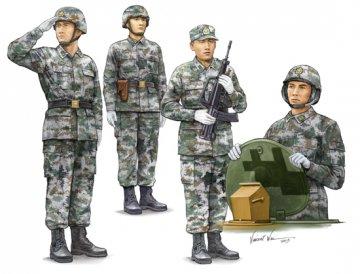 PLA Tank Crew · TRU 00431 ·  Trumpeter · 1:35