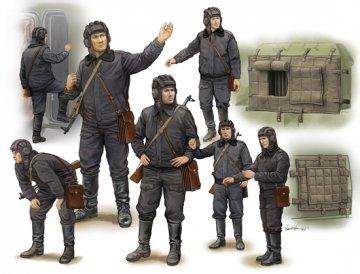 Soviet Soldier-Scud B Crew · TRU 00434 ·  Trumpeter · 1:35