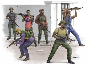 African Freedom Fighters · TRU 00438 ·  Trumpeter · 1:35
