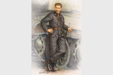 WWII Soviet Army Tank Crewman 1942 · TRU 00701 ·  Trumpeter · 1:16
