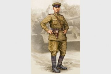 WWII Soviet Officer Vol.2 · TRU 00704 ·  Trumpeter · 1:16