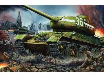 T-34/85 1944 Baunummer 183 · TRU 00902 ·  Trumpeter · 1:16