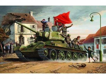 T-34/76 1943 · TRU 00903 ·  Trumpeter · 1:16