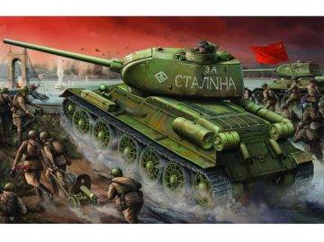 T-34/85 1944 Baunummer 174 · TRU 00904 ·  Trumpeter · 1:16