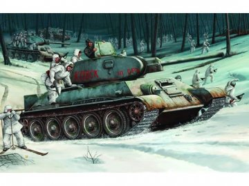 T-34/76 Soviet Tank (1942) · TRU 00905 ·  Trumpeter · 1:16