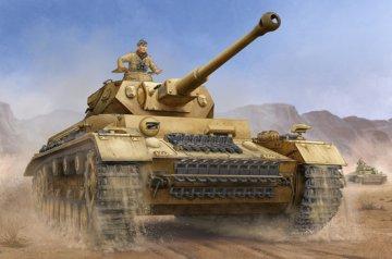German Pzkpfw IV Ausf.F2 Medium Tank · TRU 00919 ·  Trumpeter · 1:16