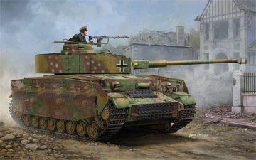 German Pzkpfw IV Ausf.J Medium Tank · TRU 00921 ·  Trumpeter · 1:16