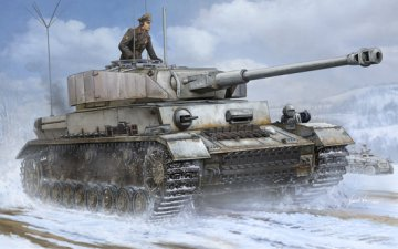 German Pz.Beob.Wg.IV Ausf.J Medium Tank · TRU 00922 ·  Trumpeter · 1:16