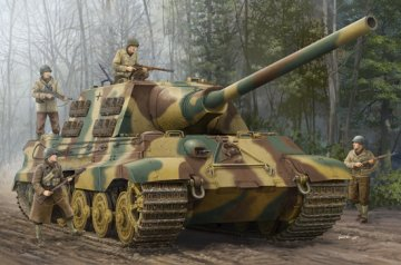 German Sd.Kfz.186 Jagdtiger · TRU 00923 ·  Trumpeter · 1:16