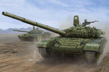 Russian T-72B/B1 MBT (w/kontakt-1 reactiv armor) · TRU 00925 ·  Trumpeter · 1:16