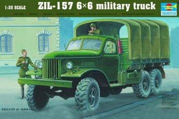 ZIL-157 6x6 Soviet Military Truck · TRU 01001 ·  Trumpeter · 1:35